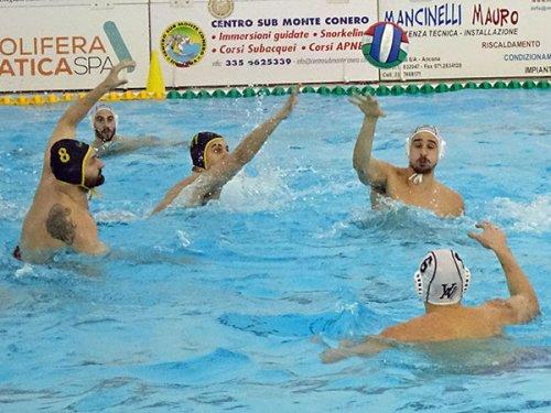 Pallanuoto A1 maschile - La Barbato Design Vela Ancona cede al Torino
