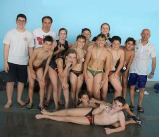 La Pallanuoto Polisportiva Riccione Under12 è vice-campione dell'Emilia Romagna