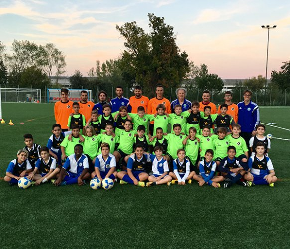 L'innovazione scende in campo con i ragazzi della K-Sport Academy Azzurra