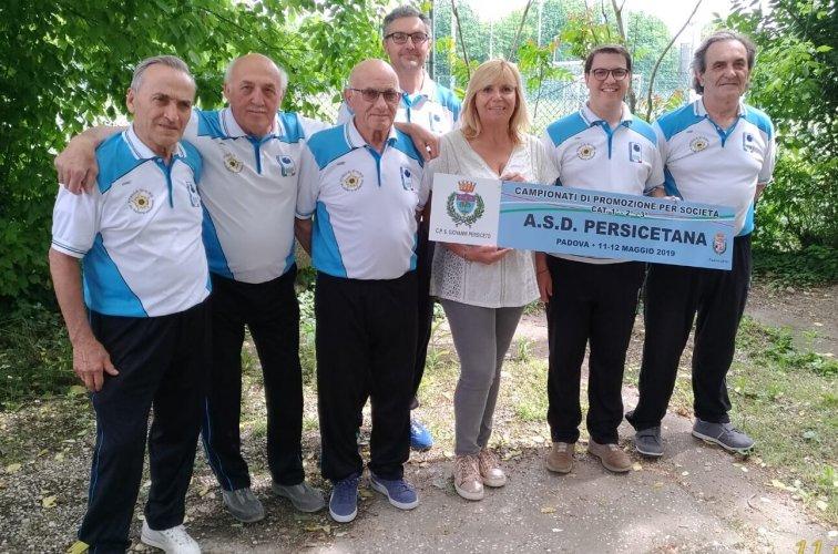 Bocce la Persicetana vince il titolo nel Campionato di Promozione in terza categoria