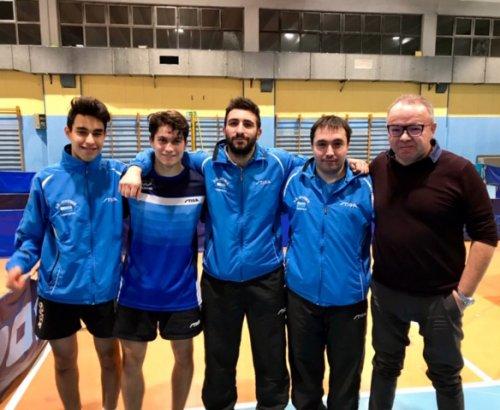 TennisTavolo - Ultima giornata del girone di andata dei campionati a squadre