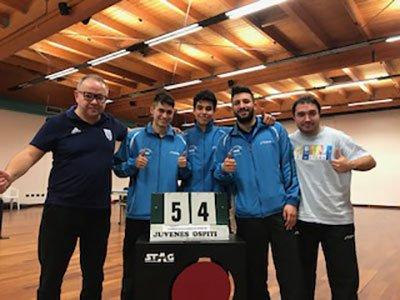 Tennis Tavolo - Juvenes e ASD Marina di Montemarciano 5-4