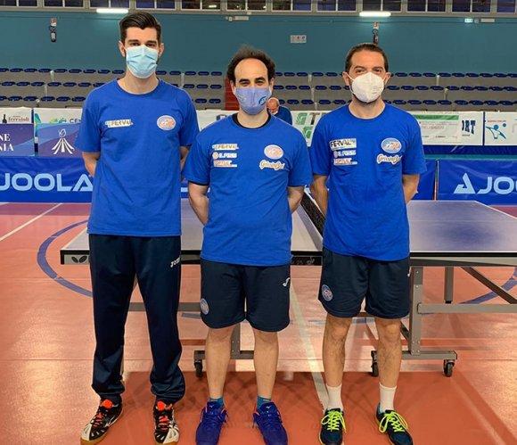 Tennistavolo A1 maschile, blitz a Napoli per il Reggio Emilia Ferval: 4-2 al Sant'Espedito