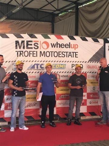 Pranzo Trofeo Motoestate: premiato Andrea Raimondi alfiere del Lucky Racing Team