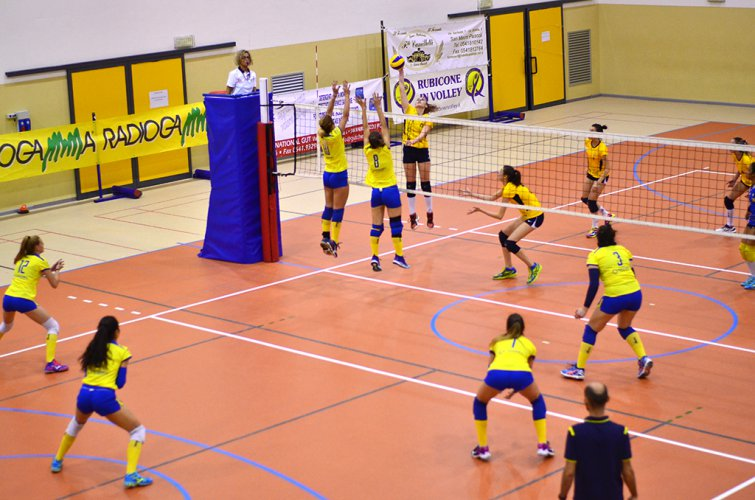 Rubicone In Volley RIV-Sanamed Volley Modena 1-3