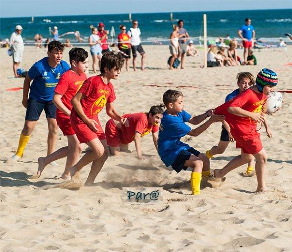Per il 20° anno torna il Mini Beach rugby di Pesaro