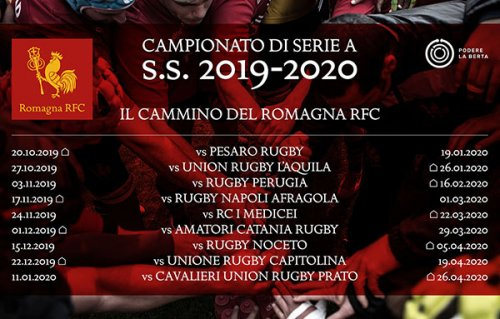 Calendario Serie B 2020 19.Romagna Rfc Ecco Il Calendario Di Serie A