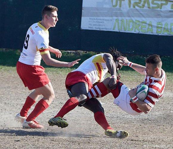Paspa Pesaro vs Unione Rugby L'Aquila 39-15 (5-0)