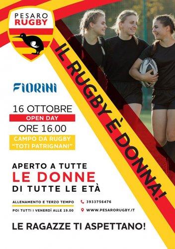 Il Rugby a Pesaro è donna!