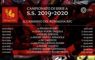 Romagna RFC ecco il calendario di Serie A