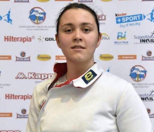 Scherma: podio di Giulia Bedini del Pentamodena nella prima prova nazionale giovani disputata a Ravenna.