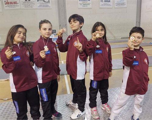 V Trofeo Pegaso prima tappa Orvieto cat Under14 e Prime Lame/Esordienti spada