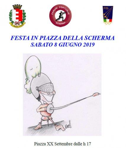 La Festa della Scherma Marchigiana in Piazza