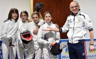 Circolo ravennate della spada presente con 5 formazioni ai campionati italiani a squadre u14 di spada a Bolzano