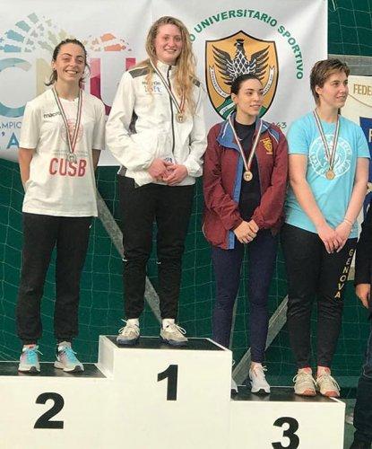 La lughese Sara Billi medaglia d'argento ai Campionati Nazionali Universitari a L'Aquila