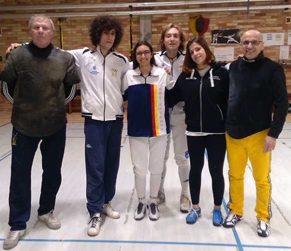 Rocco, Merendi, Bombardi e Stella qualificati alla seconda prova nazionale assoluti