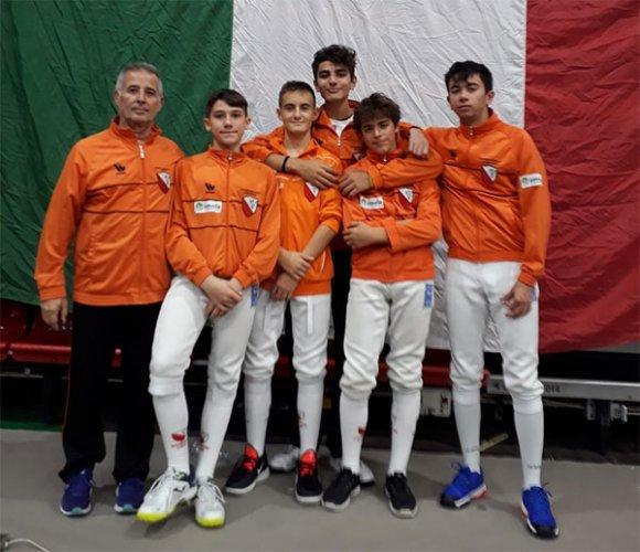 Campionato nazionale under 17 di Scherma: eccellente settimo posto del lughese Guido Pirazzini