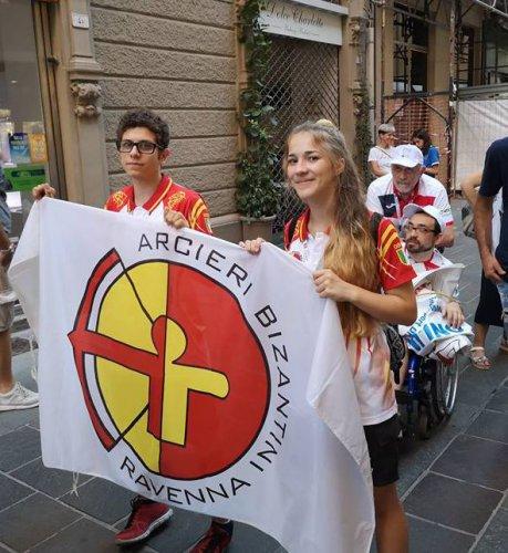 Gli Arcieri Bizantini ai Giochi internazionali del Tricolore