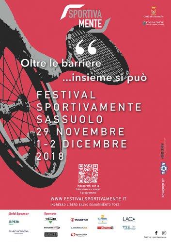 Debutta a Sassuolo il festival sportivamente