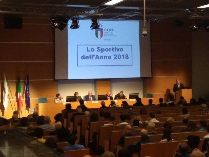 CONI Point Rimini:Consegnati i Premi Lo Sportivo dell'Anno 2018.