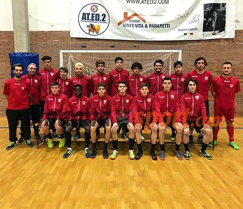 On line le foto 2018-2019 della Under 19 del Calcio a 5 Forlì