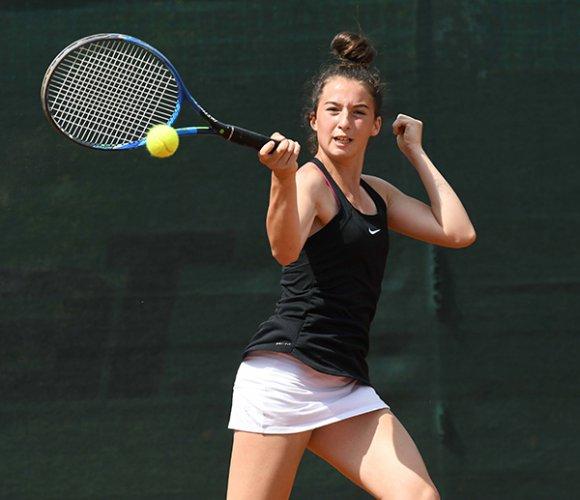 Andrea Maria Artimedi in finale nel torneo under 16 tennis Europe di Rotterdam