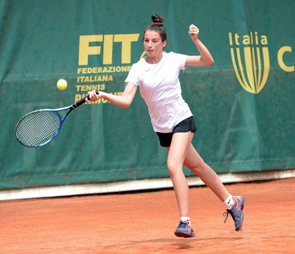 Andrea Maria Artimedi in semifinale nel torneo under 16 tennis europe di Rotterdam