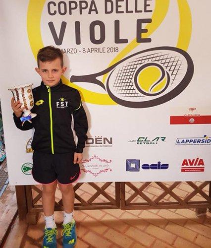 Dennis Spircu in grande evidenza al Master Internazionale Tennis Trophy Kinder + Sport