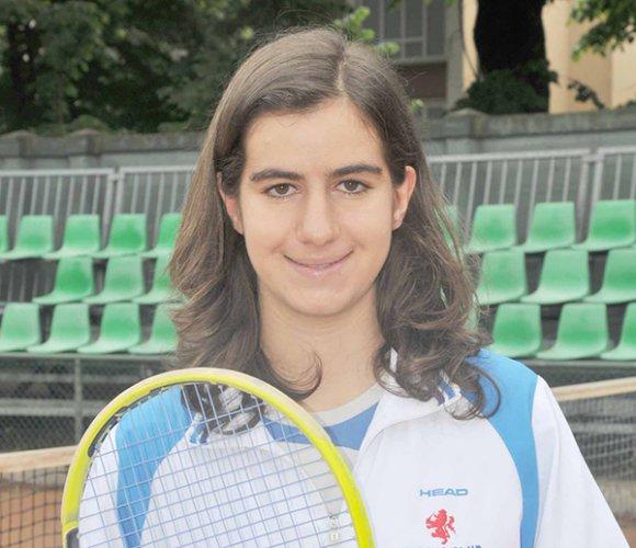 Alessia Ercolino in semifinale nell'Open femminile del Circolo Tennis Venustas di Igea Marina