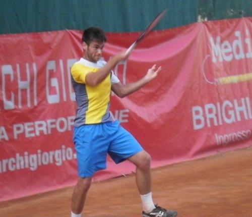 Noah Perfetti in semifinale nel torneo nazionale Open del Circolo Tennis Cervia