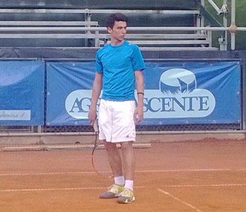 Brillante esordio di Paolo Mazzavillani nel torneo Open del Circolo Tennis Cervia