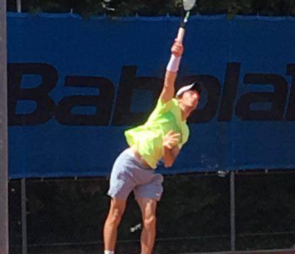 Umberto Crocetti Bernardi vola in semifinale nell'Open del Ct Cervia