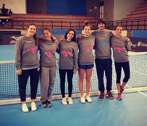 Tennis, domani a Foligno scatta la sfida scudetto Faenza-Prato.