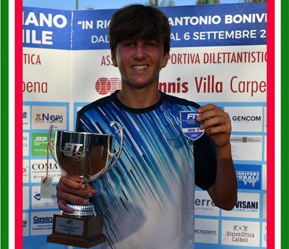 Andrea De Marchi conquista lo scudetto tricolore nei campionati italiani Under 13