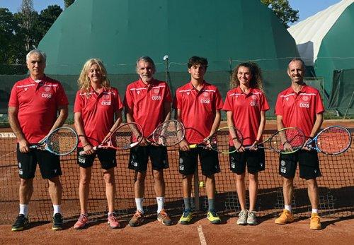 Torneo nazionale accademico di tennis.