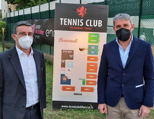 Giancarlo Sabbatani è il nuovo presidente del Tennis Club Faenza