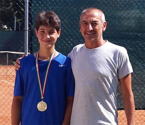 Davide Brunetti vince  il torneo nazionale under 14 del Misano Sporting Club