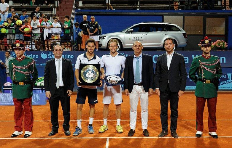 """Gli Internazionali di Tennis """"San Marino Open"""" ripartono  con Cecchinato (campione 2013), Simon, Caruso e altri 4 azzurri."""
