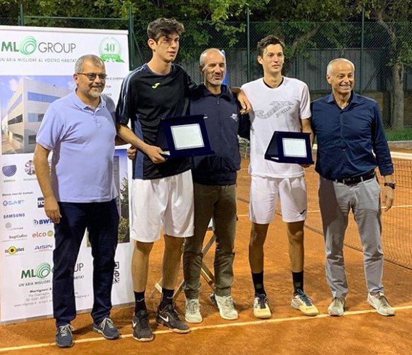 Alessandro Pecci batte Alberto Morolli e si aggiudica il torneo nazionale Open del Circolo Tennis Cicconetti