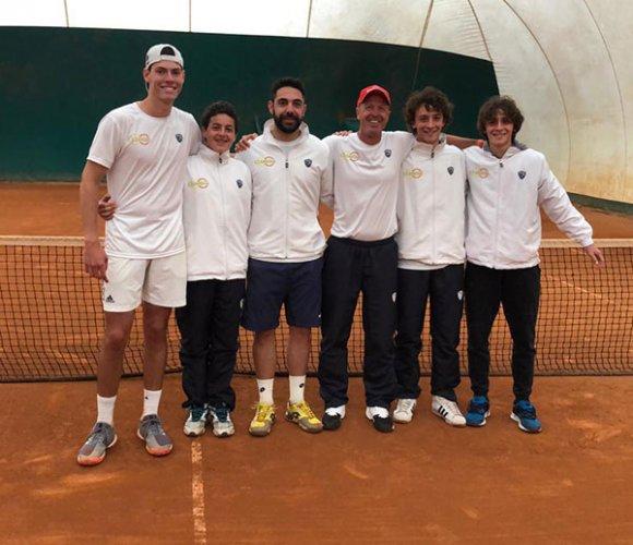 Secondo successo in serie d1 maschile per la squadra del circolo tennis Dario Zavaglia: 4-1 al CT Castenaso