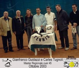 FOTO STORICHE - Charles Tugnoli e Gianfranco Guidazzi -Master over 45, ottobre 2003