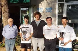 Per il Circolo Tennis Cervia si chiude un grande 2018 con ben cinque scudetti conquistati