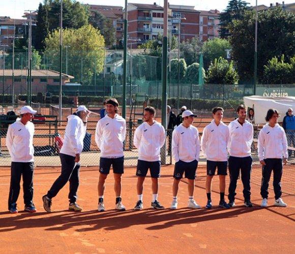 Tennis Club Viserba sconfitto 6-0 a Roma dall'Eur Sporting