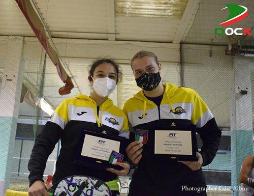 Valentina Pecci ed Ilaria Grandi conquistano lo scudetto di 3° categoria