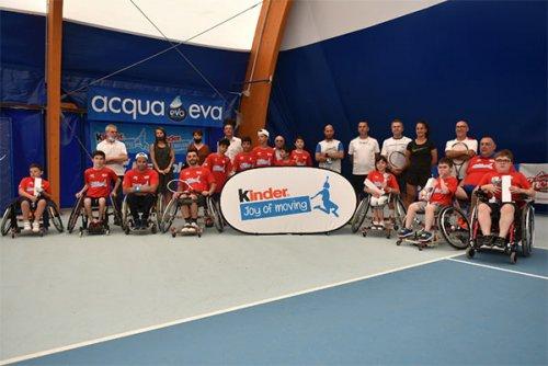 Ripartito da massa lombarda il circuito junior wheelchair tennis trophy fit kinder joy of moving'