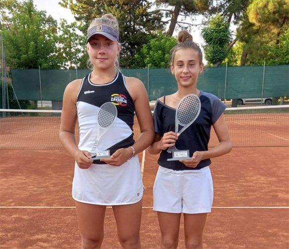 Alberto Bezzi e Sara Aber vincono i tornei Under 16 del Ct Venustas