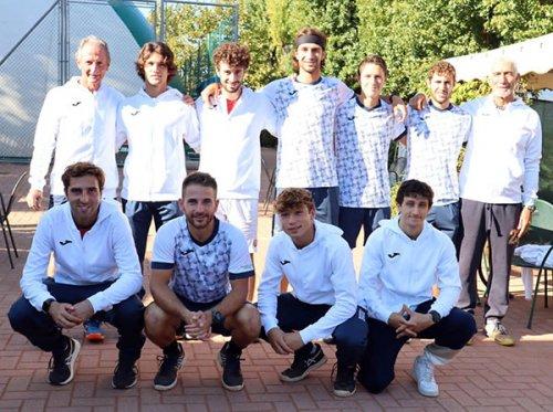 Esordio con il botto per il Tennis Club Viserba nel campionato di serie A2 maschile