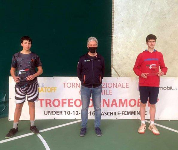 Brillante cammino per Simone Cristiano nel torneo nazionale del Tc Baratoff di Pesaro
