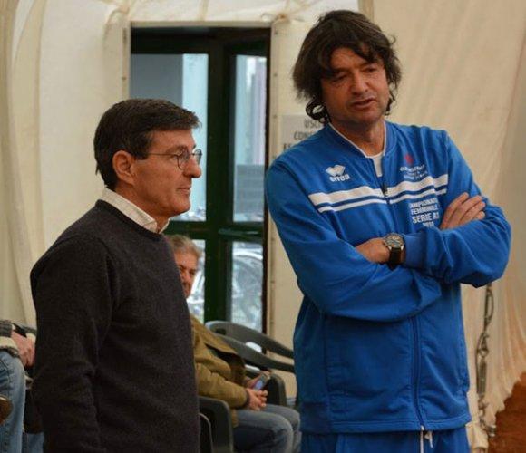 Mirko Sangiorgi, 10 anni da capitano al Tennis Club Faenza