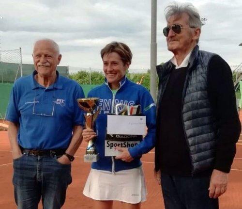 Loris Tovagliari e Giorgia Mughetti sono i vincitori del torneo di 4ª categoria trofeo Sportshop